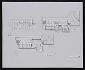 view Photograph of floor plan for M, B, 1, Physics Building, University of Virginia digital asset number 1