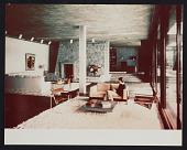 view Interior photograph of Koerfer House, Moscia, Tessin, Switzerland digital asset: front