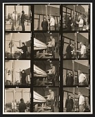 view Contact sheet with images of Jack Brogan and Robert Irwin digital asset number 1