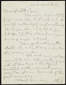 view Philip Guston letter to James Brooks digital asset: page 1