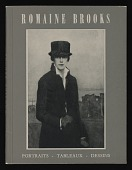 view <em>Romaine Brooks: Portraits-Tableaux-Dessins</em> exhibition catalog digital asset number 1