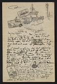 view Bolton Coit Brown, Paris letter to Edmund Woodward Brown and Martha Coit Brown digital asset: page