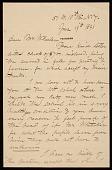 view John George Brown letter to Hayden W. Wheeler digital asset number 1