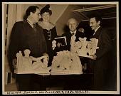 view William Zorach, Eleanor Roosevelt, Carl Milles, and Edgar Miller digital asset number 1