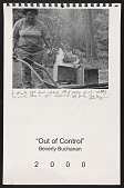 view Illustrated wall calendar titled <em>Out of control</em> digital asset number 1