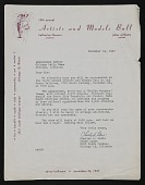 view C. J. (Clarence Joseph) Bulliet papers digital asset: Artists and Models Ball - Artists Union of Chicago