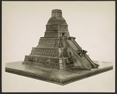 view Model of a Mayan Temple made in Mexico by Yanko Brajovitch digital asset number 1