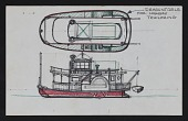 view Study of a steamboat digital asset: sketch 1