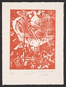 view Hans Gustav Burkhardt christmas card to Alan Leslie digital asset number 1