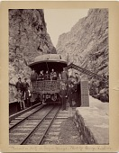 view President Benjamin Harrison in Royal Gorge, Seattle, Wash. during his Western tour of the United States digital asset number 1