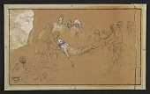 view A study sketch of a suppossed Titian painting digital asset number 1