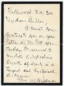view Letter to Howard Russell Butler digital asset: page 1