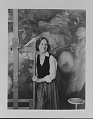 view Dorothea Tanning in studio digital asset number 1