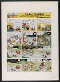 "view ""Peter Rabbit"" comic strip for <em>New York Tribune</em> digital asset number 1"