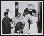 view African American children visiting Raleigh WPA Art Center digital asset number 1