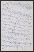 view Beauford Delaney letter to Lawrence Calcagno, Paris digital asset number 1