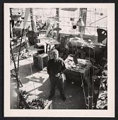 view Alexander Calder in his studio digital asset number 1
