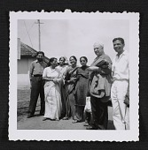 view Alexander Calder with members of the Sarabhai family digital asset number 1