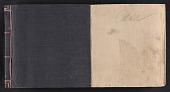 view Alexander Calder scrapbook of press clippings digital asset: cover