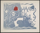 view Alexander Calder holiday card (unsent) digital asset number 1