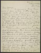 view Alexander Calder letter to George Thomson digital asset number 1