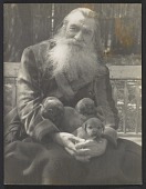 view Arthur B. Carles holding puppies digital asset number 1