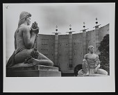 view Brents Carlton's sculptures at the Court of Pacifica, Golden Gate International Exposition digital asset number 1