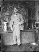 view Emil Carlsen in his studio digital asset number 1