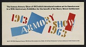 view Poster for the Armory Show 50th anniversary exhibition digital asset number 1