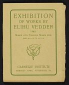 view Exhibition of works by Elihu Vedder digital asset: cover