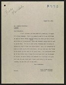 view Homer Saint-Gaudens letter to Winston Churchill digital asset number 1