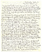 view Fernando Luis, Madrid, Spain to Ramón Carulla, Opa Locka, Fla. digital asset: page 1