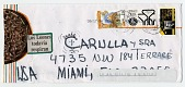 view Miguel Cubiles to Ramón Carulla, Miami, Fla. digital asset: envelope