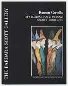 view Rámon Carulla <i>New Paintings, Plates and Boxes</i> digital asset: page 1