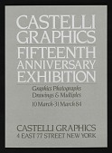 view Castelli Graphics fifteenth anniversary exhibition announcement digital asset number 1