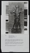 view Photograph of Elizabeth Catlett sculpture <em>Students Aspire</em> with description digital asset number 1