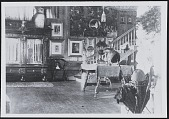 view Chase Home, Interior circa 1895 digital asset: Chase Home, Interior circa 1895
