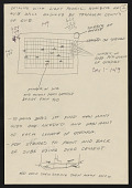 view Notes related to the construction and installation of Chris Burden&apos;s <em>All the Submarines in the United States of America</em> (1987) digital asset number 1