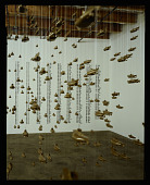 view Installation photograph of Chris Burden&apos;s <em>All the Submarines of the United States of America</em> at Christine Burgin Gallery digital asset number 1