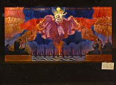 view The <em>O Trinity of Love and Power</em> triptych by Violet Oakley created as a portable altarpiece for the US armed forces digital asset number 1