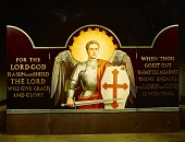 view A triptych by Allyn Cox created as a portable altarpiece for the US armed forces digital asset number 1