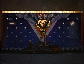 view <em>Archangel Michael Triptych</em> for the USS Yorktown by Edith Emerson digital asset number 1
