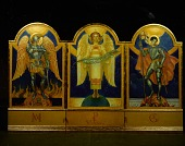 view <em>Angel of Victory Triptych</em> for Camp Breckinridge, Kentucky by Violet Oakley digital asset number 1