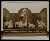view Color transparency of triptych #405, <em>I am the good shepherd and know my sheep</em> by Hildreth Meiere digital asset number 1