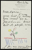 view Agnes Rindge Claflin papers concerning Alexander Calder, 1936-circa 1970s digital asset number 1