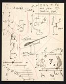 view Alexander Calder letter to Agnes Rindge Claflin digital asset number 1