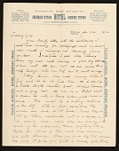 view Alson Skinner Clark letter to Medora Clark digital asset number 1