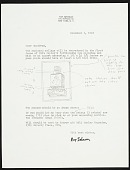 view Ray Johnson letter to Geoffrey Clements digital asset number 1