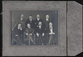 view Photograph of Coffin with Colleagues digital asset: Photograph of Coffin with Colleagues