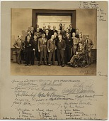 view Twenty-six members of the National Academy of Design digital asset: front